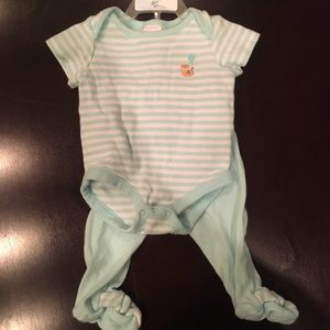 Baby blue boy outfit